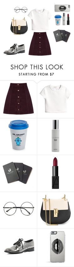 """fashion week autumn 2015"" by iuliana-1 ❤ liked on Polyvore featuring Oasis, H&M, Wild & Wolf, Colbert MD, Red Clouds Collective, NARS Cosmetics, Retrò, Chloé, River Island and Lipsy"