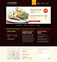 La Bocca #webdesign Web Design, Design Web, Website Designs, Site Design