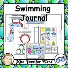 Swimming is such a fun and enjoyable part of growing up - who doesn't love going to the pool? This packet contains a variety of activities that can be completed before, during and after swimming lessons to promote goal setting, writing (recounts, discussion and persuasion), and a bit of art and design too!What's included?Page format: A4 and LetterLayout: 1 worksheet per page Style: Blackline and Colour (not all pages have colour - eg.
