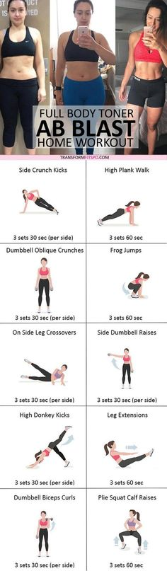 #womensworkout #workout #femalefitness Repin and share if this workout revealed ripped abs! Click the pin for the full workout.