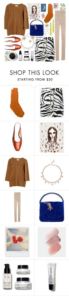 """""""He loves me, he loves me not"""" by renaesch ❤ liked on Polyvore featuring alyki, ADAM, Amélie Pichard, Lauren Manoogian, Polaroid, Universal, Bobbi Brown Cosmetics and Simone Rocha"""