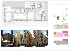 Acceso a proyecto hotel Itaca Málaga desde Calle Fajardo y Calle Compañía