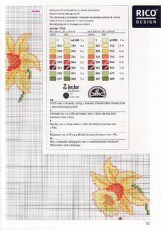 Gallery.ru / Фото #164 - 2 - irisha-ira Cross Stitching, Cross Stitch Embroidery, Cross Stitch Patterns, Easter Tablecloth, Narcissus Flower, What To Draw, Cross Stitch Flowers, Daffodils, Needlepoint