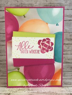 Stampin' Up! - Perfekter Geburtstag -  Perfekte Party-Ballons