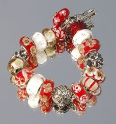 Strawberries & Whipped cream! - Trollbeads Gallery Forum