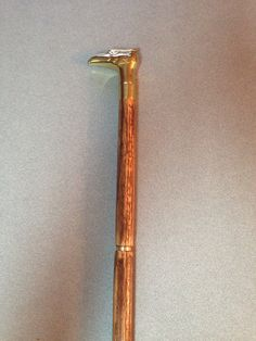 Eagle Head Cane, made by Bryce Walker.