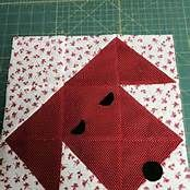 Dog Quilt Block Pattern