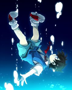 """Detective Conan - Edogawa Conan <<< Reminds me of the """"Dive to the Heart"""" from Kingdom Hearts...."""