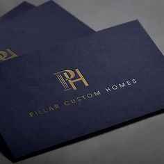 Create a logo for Pillar Custom Homes...the preferred builder for the rich and…