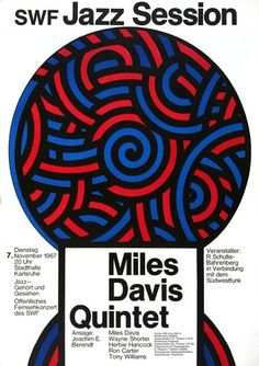 The best concert posters from the greatest events out of the last 50 years! In our huge amount of posters, which we collect since you will find ever Miles Davis, Jazz Poster, Upcoming Concerts, Psychedelic Music, Soul Jazz, Open Air, All That Jazz, Blues, Musicals