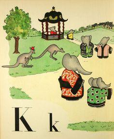 Art illustration for children's books: Babar by Jean de Brunhoff