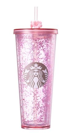 Starbucks Korea Happy Now Year 2017 Coffee & Tea Collectibles Starbucks Tumbler, Starbucks Cup, Coffee Milkshake, I Drink Coffee, Coffee Latte, Caribou Coffee, Unicorn Foods, Coffee World, Pink Cups