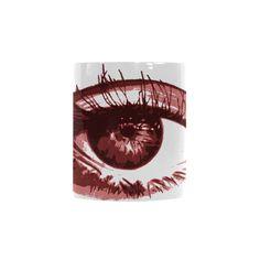Red Eye Custom Morphing Mug