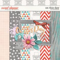 FREE DigiScrap Parade Aug 2016 Hop : On This Day by Amanda Yi