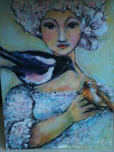 peint par Jetty Lindeboom de haer