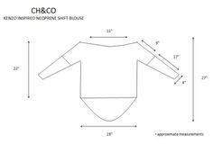 #Kenzo inspired shift blouse copy