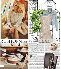 """Fashion collocation---rushopn.com"" by sara-mackay ❤ liked on Polyvore"