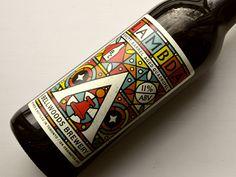 Lambda beer by Doublenaut