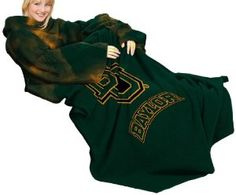 Baylor Bears sleeved blanket. This is so necessary. #SicEm