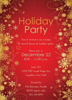 christmas party invitations templates free printables - Google ...