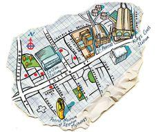 Map of Euston Road - Bill Wood