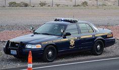 Nevada Highway Patrol (Dept. of Public Safety) # 415 Ford CVPI