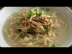 Korean Chicken Noodle Soup from Scratch (Kalguksu: 칼국수) - YouTube