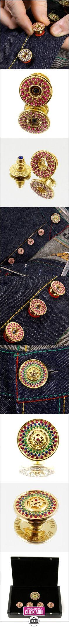 RMC Martin Ksohoh Ruby botón de Custom Made de piedras preciosas Set en caja de regalo rmc2340, rojo, talla única  ✿ Joyas para hombres especiales - lujo ✿ ▬► Ver oferta: https://comprar.io/goto/B00HWRE2JY