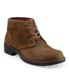 Take a look at this Taupe Suede Roar Boot - Men on zulily today!