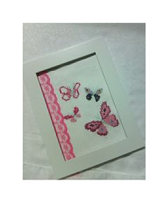 Crossstitch, Playing Cards, Butterfly, Cross Stitch, Punto De Cruz, Cross Stitches, Playing Card Games, Butterflies, Cards