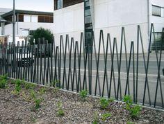 Clôtures : Clôtures espaces verts - Bambu screen wall pattern ideas