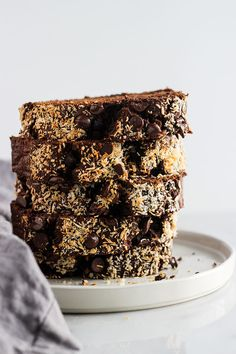 This mocha banana bread is a tasty twist on your traditional banana bread with richness of dark chocolate and coffee. Serve warm with peanut butter.