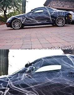 14 Clever Halloween Decorations to Dress up Your Car. If its parked in the driveway might as well use it