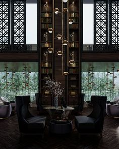 Lobby Lounge of Puli Hotel in China on Behance