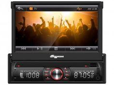 DVD Automotivo Quatro Rodas MTC6617 7?? Touch - Bluetooth USB SD