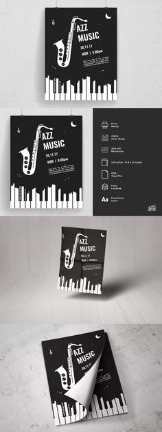 Black Friday Sale Flyer Template PSD Flyer Templates Pinterest - black and white flyer template