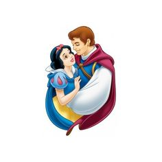 Disney disney hd series of cartoon characters snow white Free psd in... ❤ liked on Polyvore featuring disney