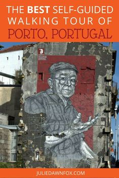 Pushed for time but don't want to miss out on Porto's 'must sees'? My self-guided walking tour of Porto gives you a well-rounded selection of the best things to see and do in Portugal's second city. On the tour, you'll experience World Heritage architecture, history, art, food, port wine, views and shopping. Click through to see the best self-guided walking tour of Porto, Portugal. | Julie Dawn Fox in Portugal #portugal #porto #walkingtour
