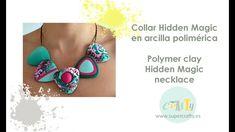 Polymer clay Hidden Magic Necklace