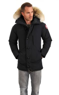 Parka The Chateau Navy Canada Goose