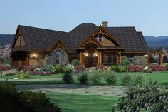 Craftsman Style House Plan - 3 Beds 2.5 Baths 2091 Sq/Ft Plan #120-162 Exterior - Front Elevation - Houseplans.com