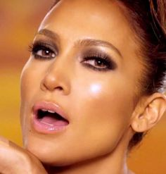via By Sasha - Jennifer Lopez makeup