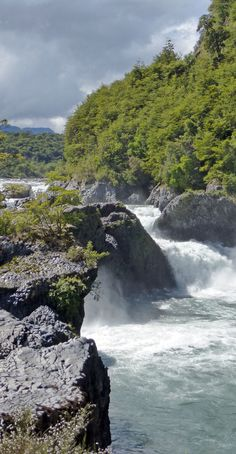 Exploring Patagonia's Petrohue Falls and River in Chile