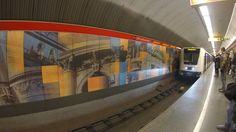 Budapest subway station