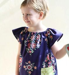 SALE Peasant dress pattern with pockets Whimsy by whimsycouture