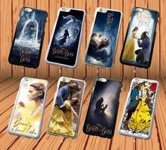 Beauty And The Beast Movie for iPhone And Samsung Galaxy Hard Case Cover #NONGCHAO