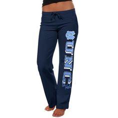 North Carolina Tar Heels (UNC) Ladies Frosh Fleece Sweatpants - Navy Blue