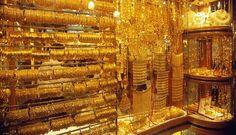 Gold, jewellery shop in Grand bazaar