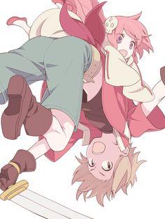 Senyuu #Anime | Ruki & Alba