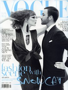 Vogue Korea January 2011 : Karen Elson & Tom Ford : Steven Meisel | Fashion Editorials | A Photographic Collection of Trending Fashion Magazine Editorials